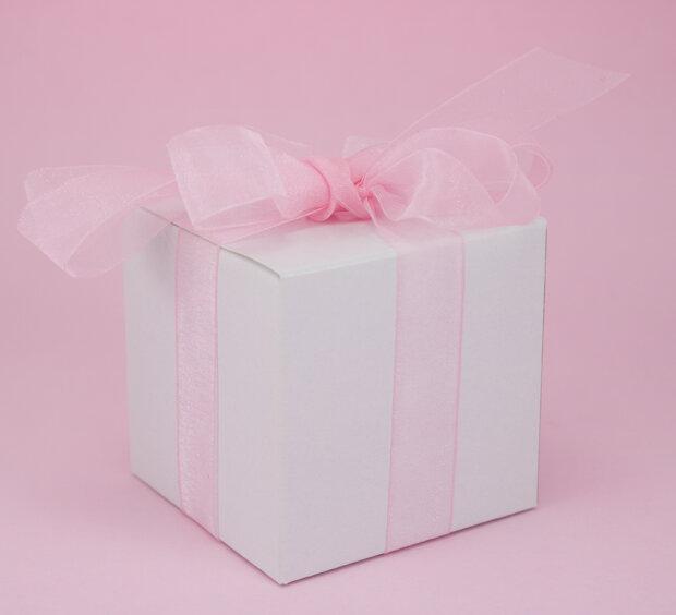 White Sweets Box