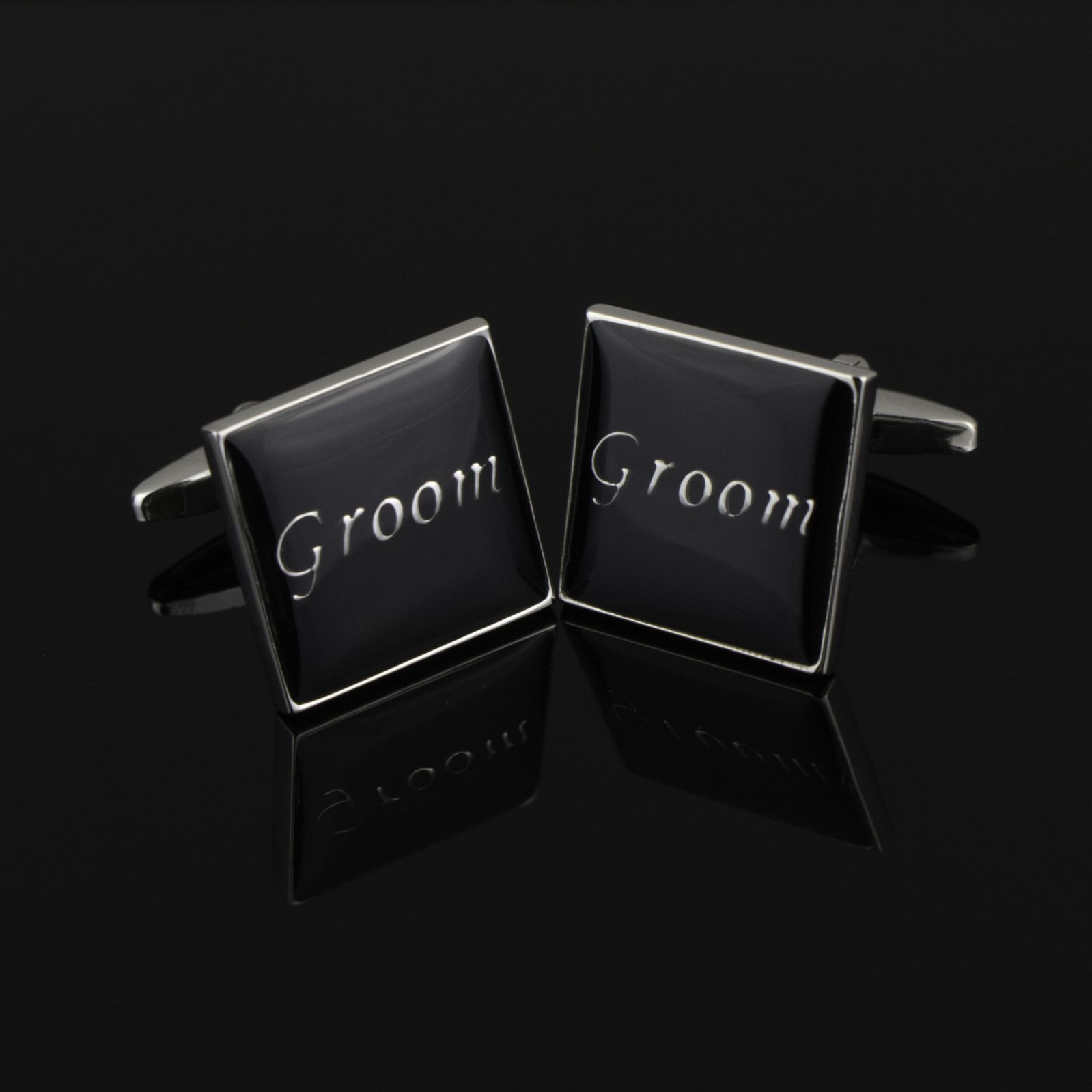 Groom Black Cufflinks