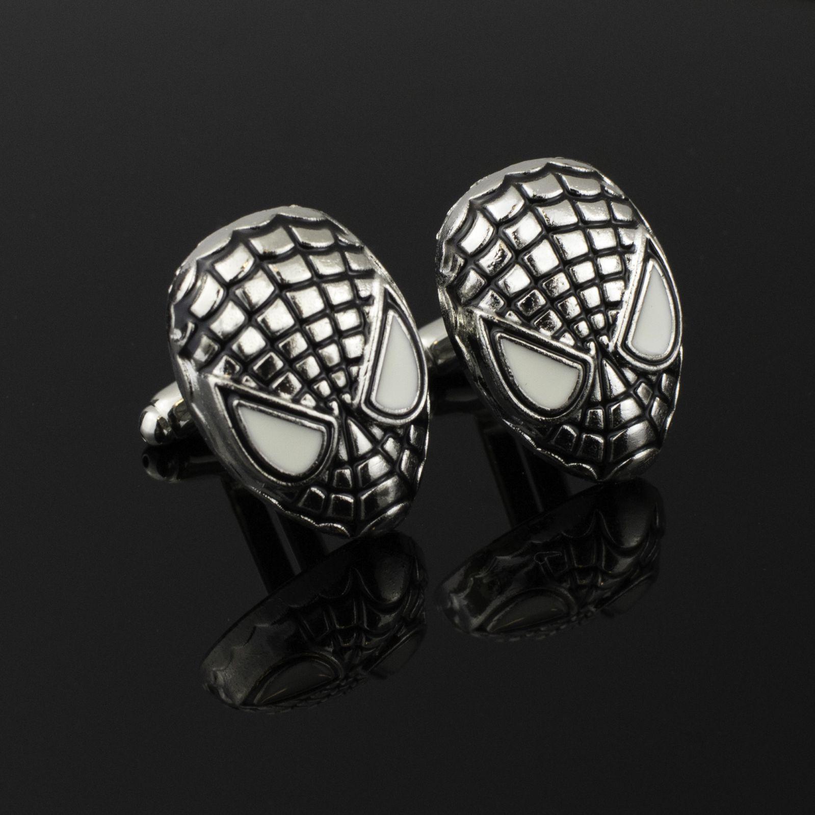 Wedding Cufflinks Spiderman
