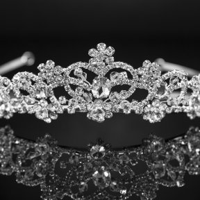 Regal Diamante Bridal Tiara