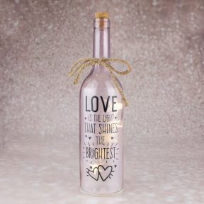Wishlight Bottle Love